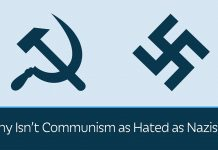 Why Communism isn't as hated as Nazism